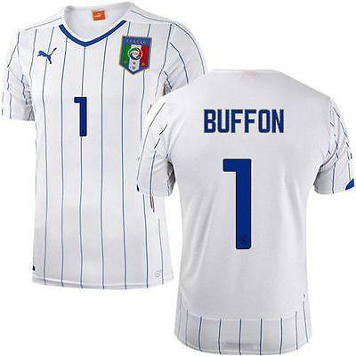 93fe4a12815 PUMA ITALY GIANLUIGI BUFFON AWAY JERSEY FIFA WORLD CUP BRAZIL 2014.