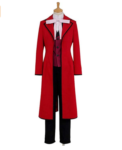Kuroshitsuji Black Butler Shinigami Grell Sutcliff Jack Ripper Kostüm Cosplay