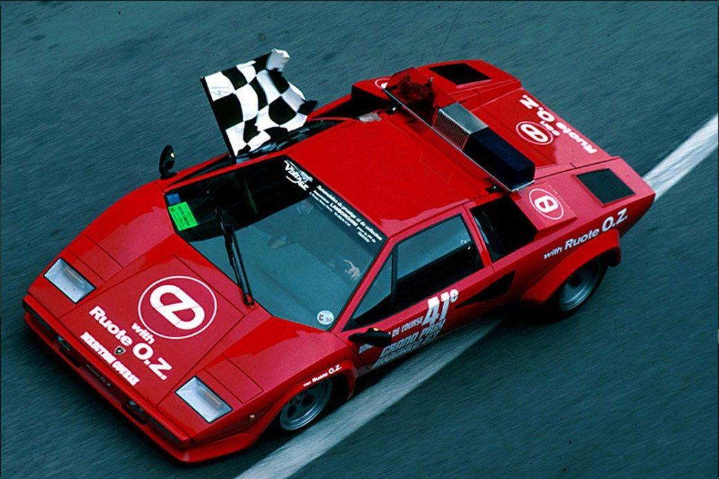Countach Monaco GP 1980s. カウンタック, エキゾチックカー