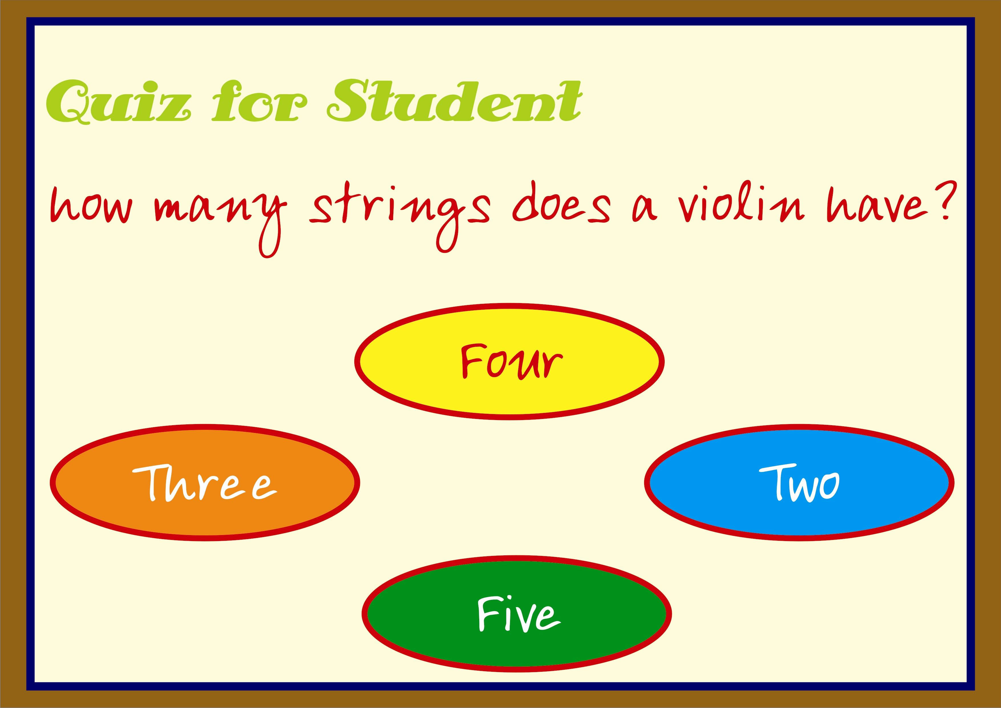 Simple General Knowledge Quiz For Student
