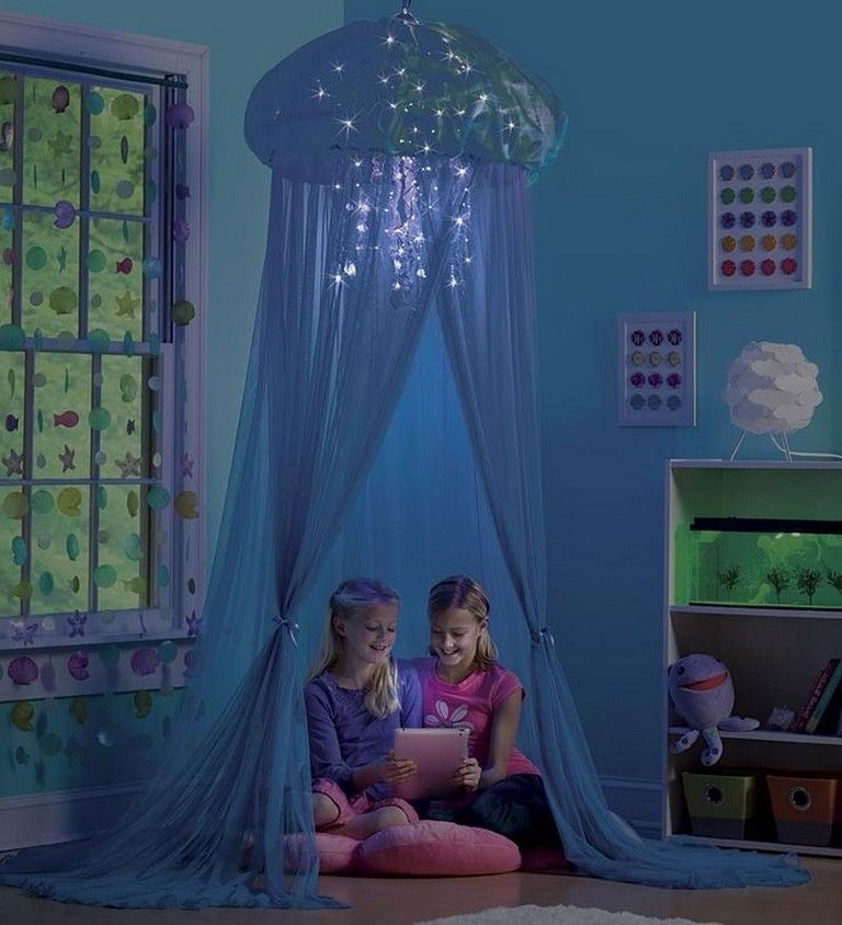 36+ Sweet Mermaid Themes Bedroom Ideas For Your Children images