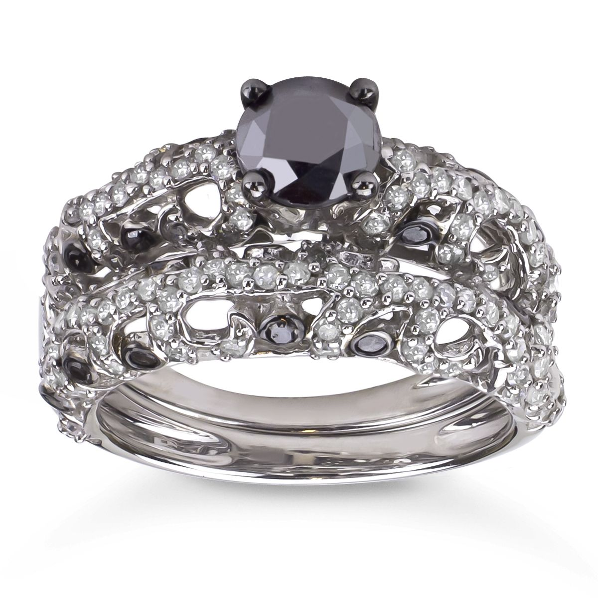 Black Diamond Ring Mobile Wedding