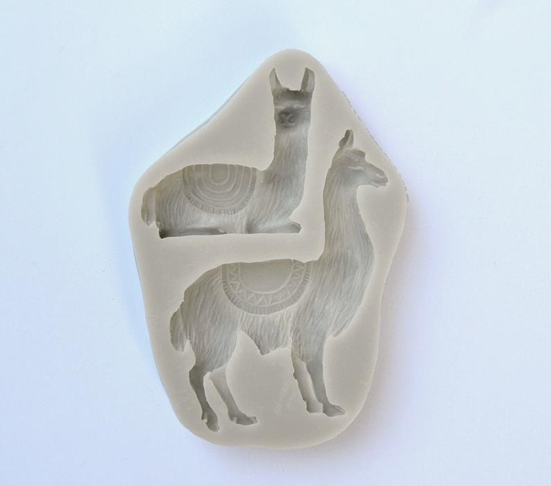 "/""Llama/"" plastic soap mold soap making mold mould"