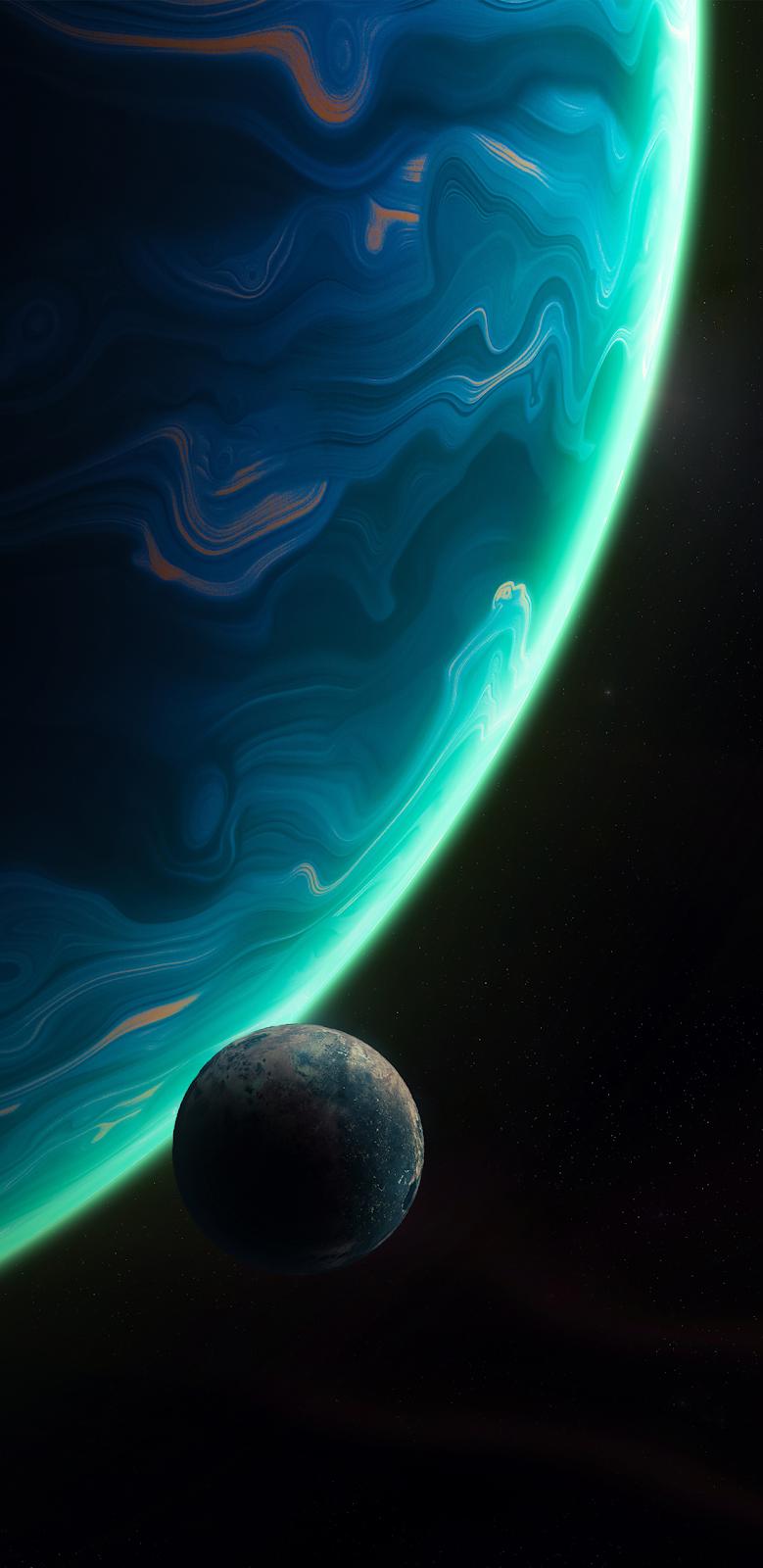 Blue Planet Background