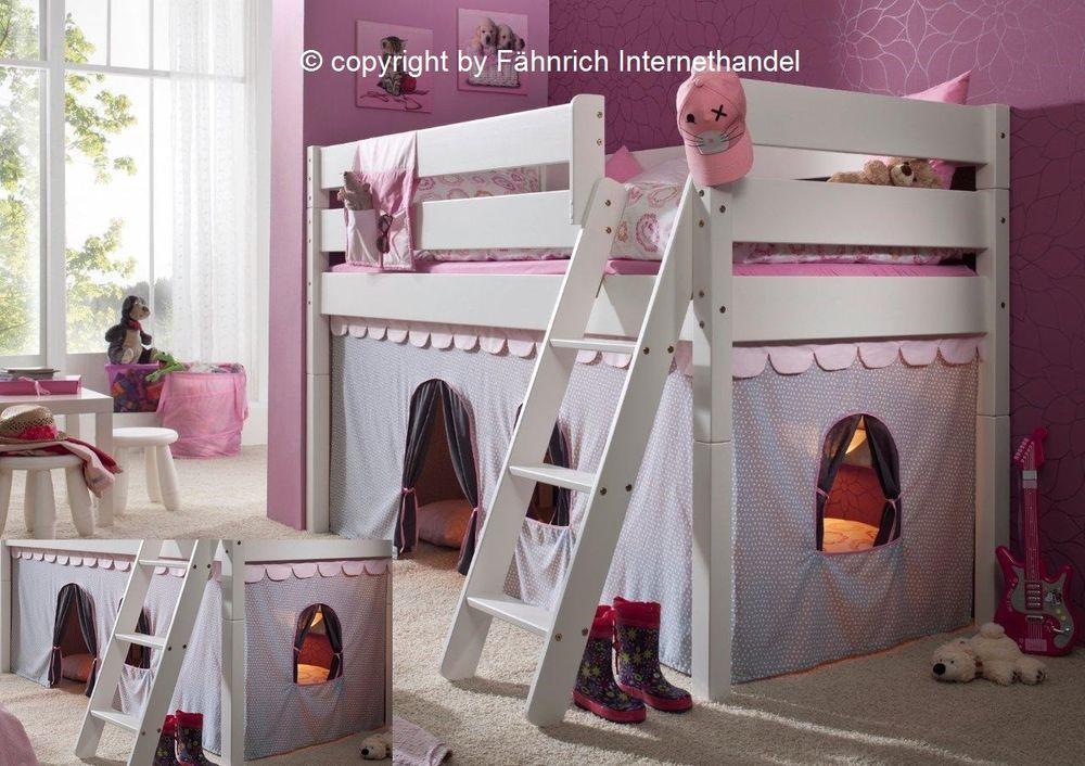 Vorhang Vorhänge Girl Prinzessin Für Hochbett Z B Flexa Thuka Gruppe Rosa Neu Möbel Wohnen Kindermöbel Wohnen Möbel Hochbett Bett Sitzbank Esszimmer
