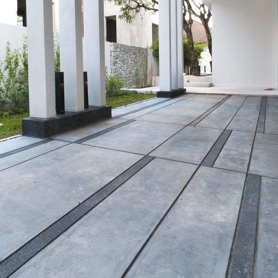 Contemporary Hijauan House, Malaysia Pavement design