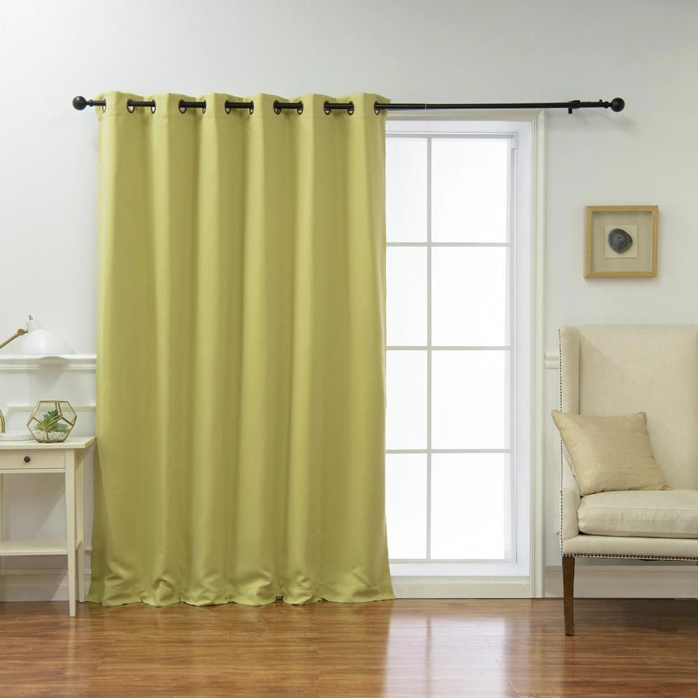 Best Home Fashion Wide Basic 80 In W X 84 In L Blackout Curtain