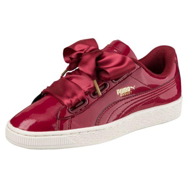 c597f6087820 Basket Heart Patent Damen Sneaker