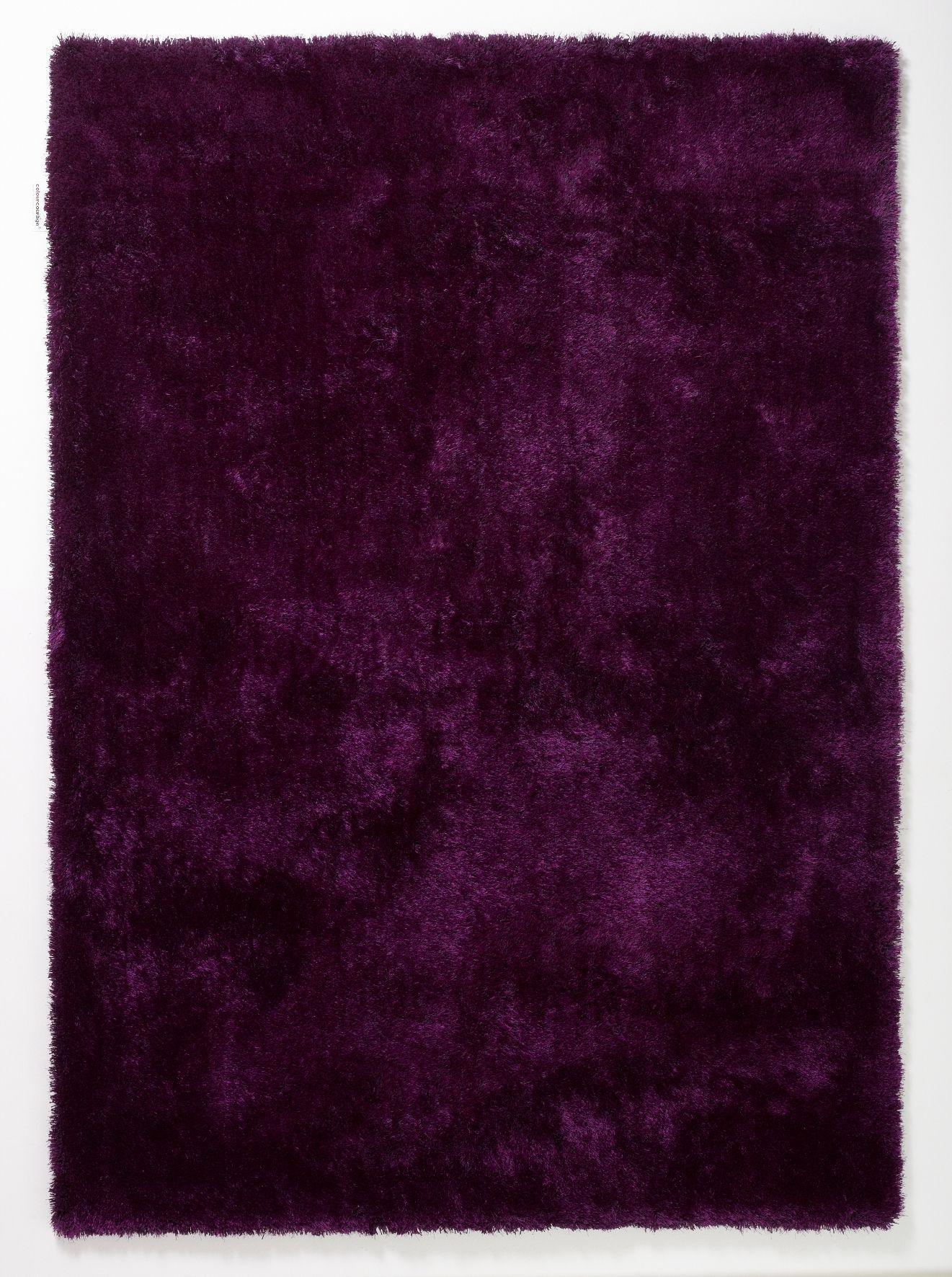 Teppich Aubergine Lila 140 X 200 Cm Colourcourage Online Kaufen Bei Woonio Teppich Haus Deko Teppich Online Kaufen