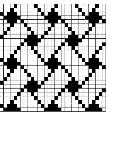Wayuu Mochilla Bag Chart | Häkelmuster, Körbchen und Boden