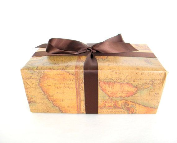 Wrapping Paper Old World Map 10 Ft Roll Father 39 S Day Masculine Gift Wrap Map Wrapping Paper Old World Maps Etsy Paper