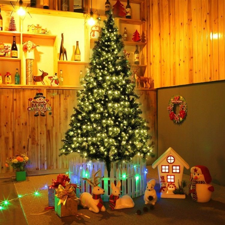 7u0027 Pre Lit Christmas Tree Artificial Xmas