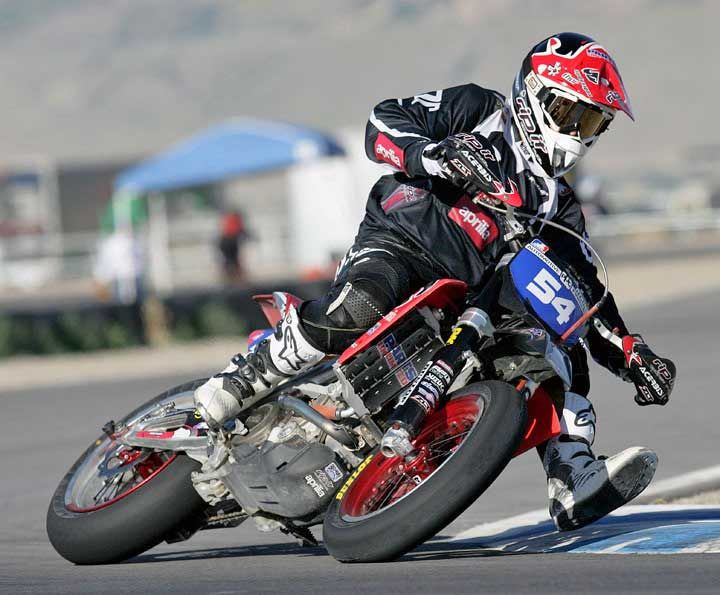 Ama Supermoto Sxv 550 Rider Makes It Three In A Row Knfilters