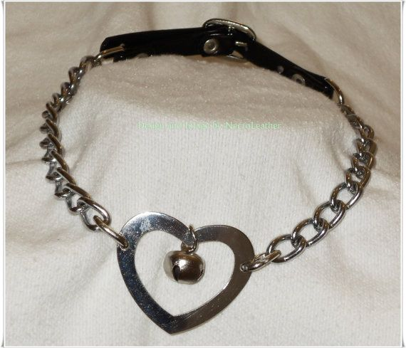 Bdsm bell collar kitten