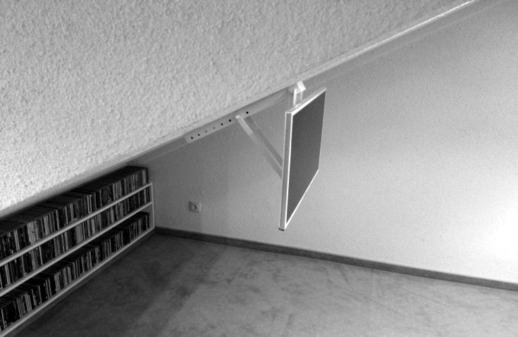 Tv mount tv mounts mount - Slanted wall tv mount ...