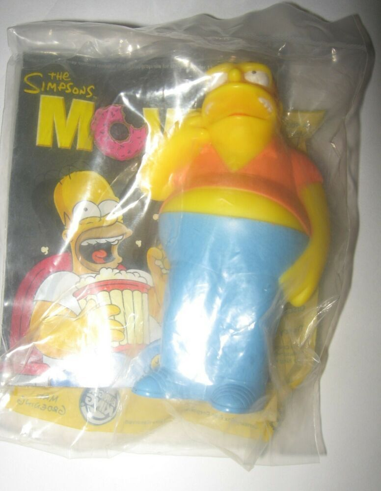 2007 The Simpsons Movie Burger King Kids Meal Toy Barney Gumble In 2020 The Simpsons Movie Barney Gumble Simpsons Toys