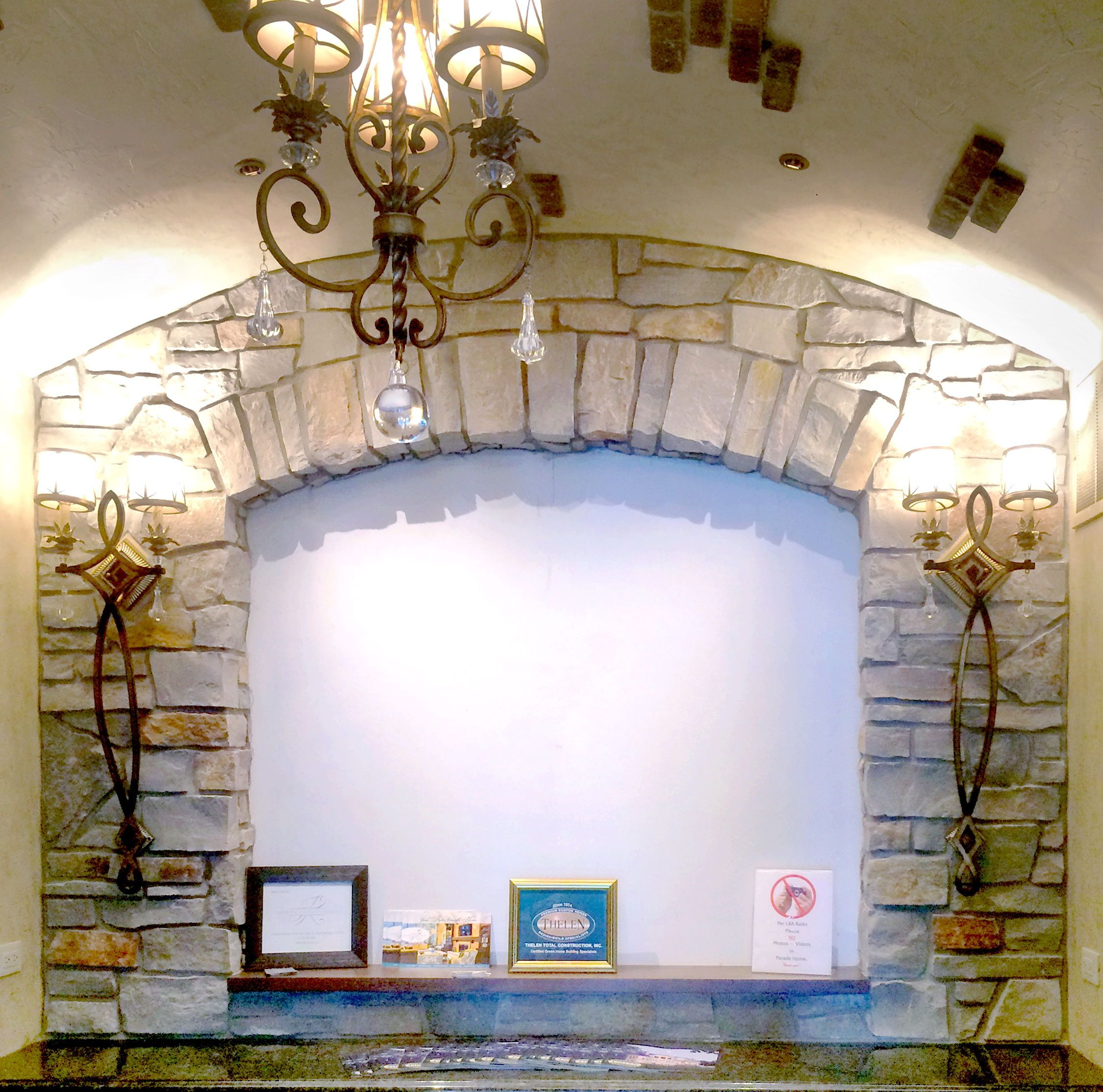 this home features buechel stone s chilton heritage blend custom rh pinterest com