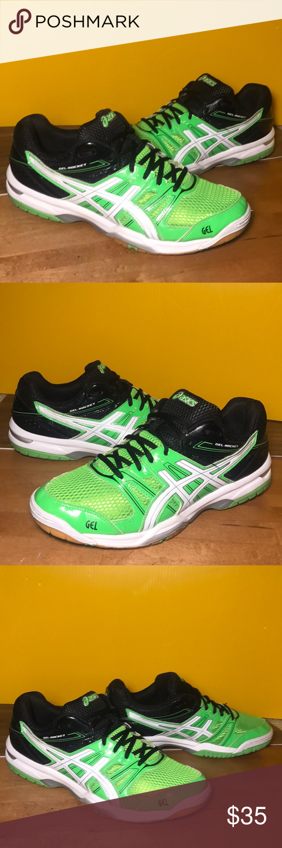 fuego sufrimiento Palacio de los niños  ASICS GEL-ROCKET 7 VolleyBall Shoes Size 9.5 HOT🔥 | Volleyball shoes, Asics,  Asics gel
