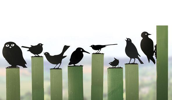 Garden birds gartendeko british garden gartenskulpturen pinterest - Gartenskulpturen selbstgemacht ...