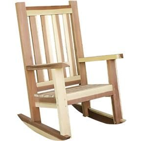 Paper Project Plan to Build a Porch Rocker #woodworkingprojectschair