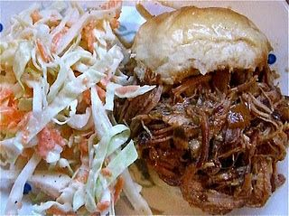 Easy BBQ Pulled Pork. I need a crock pot.