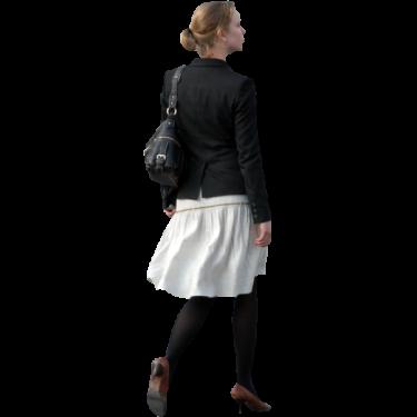 Woman Walking Away Immediate Entourage Leather Jacket Leather Jacket Men Jackets
