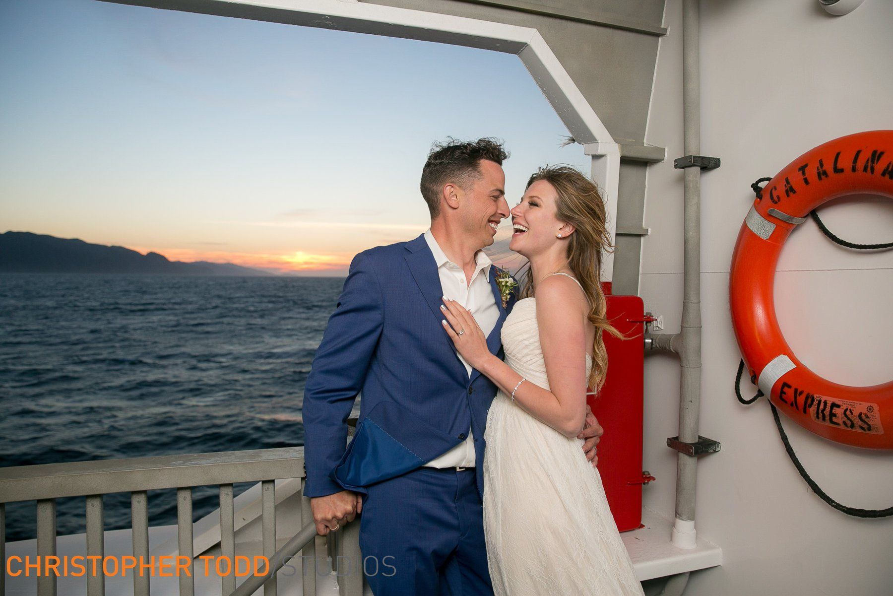 Catalina Island Elopement Orange county wedding venues