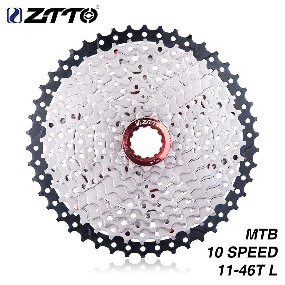 BOLANY 9 Speed 11-50T Freewheel Gold Mountain Bike Flywheel Sprocket  Cassette