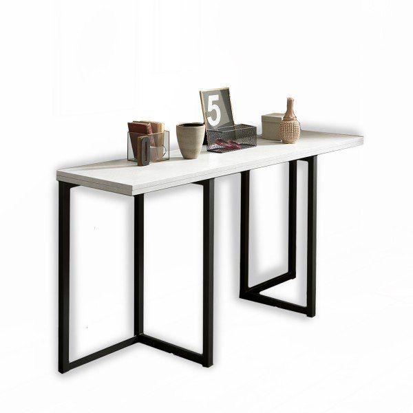 Ne Choisissez Plus Entre Table De Travail Ou De Repas Avec La Table Console Extensible Design Gra Console Extensible Table Console Extensible Mobilier De Salon