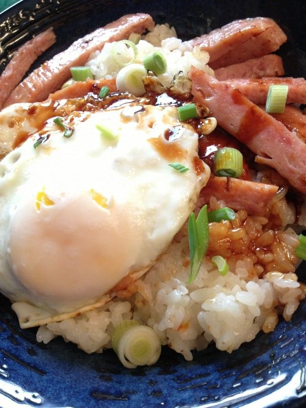 Loco Moco Breakfast For Dinner Spam Recipes Dinners Hawaiian Food Food