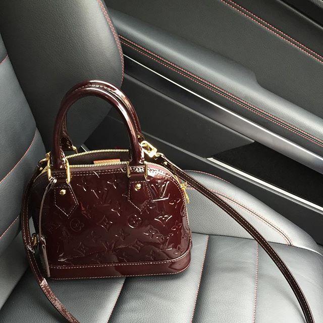 6c42ea0cbe50 Louis Vuitton Alma BB in Amarante -  1820 USD