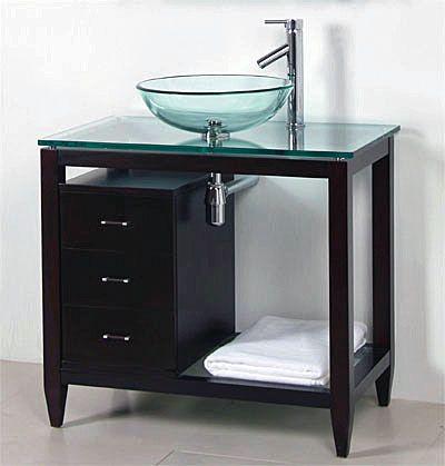 Incredible Cabinet Vanity Sink Vessel