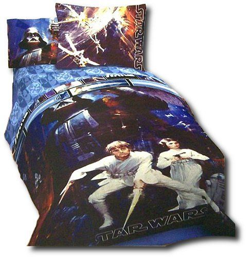 Star Wars Saga 5 Piece Full Bedding Set Full Comforter And Full