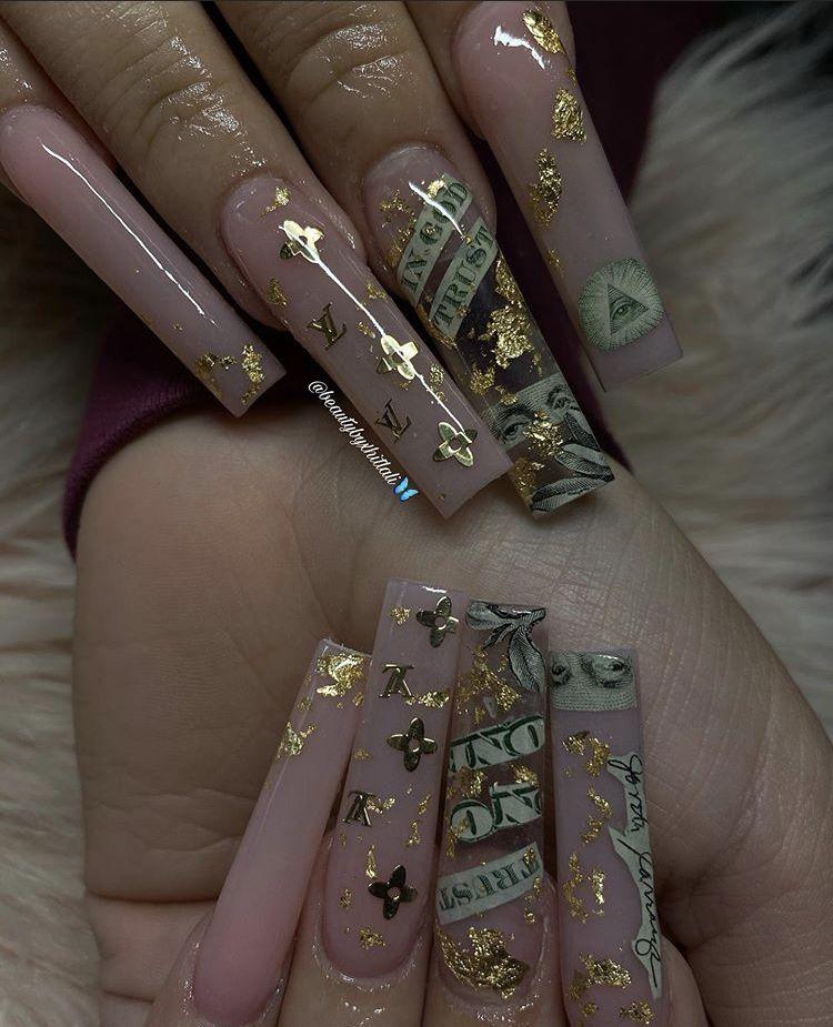 see through nails
