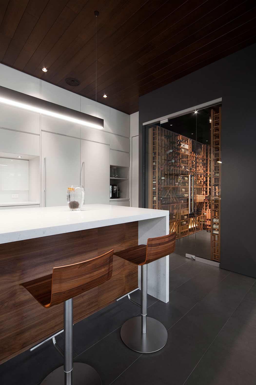 Maison Veranda By Blouin Tardif Architecture Cuisine Minimaliste Maison Architecture