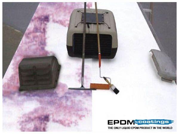 Liquid Rv Roof Repair To Fix Rv Roof Leaks Rv Roof Sealant Rv Roof Repair Roof Leak Repair Leaking Roof
