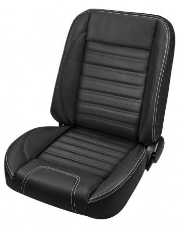 Sport Pro Classic Complete Universal Low Back Bucket Seats 1 Pair Truck Interior Vintage Vw Bus Chevy
