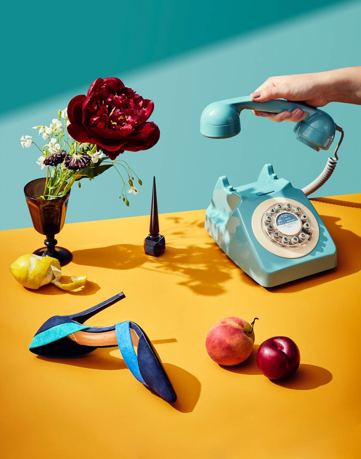 Dutch Masters Still Life Inspired Editorial #artdirection