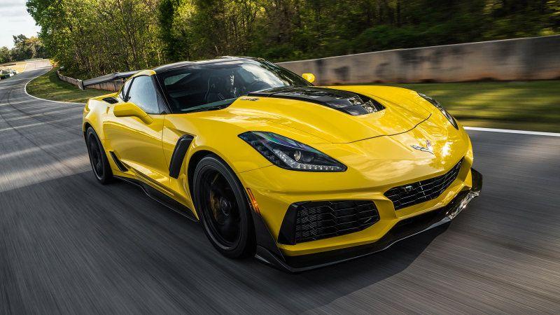 2019 Chevy Corvette Zr1 Track Test Review Corvette Zr1 Chevy