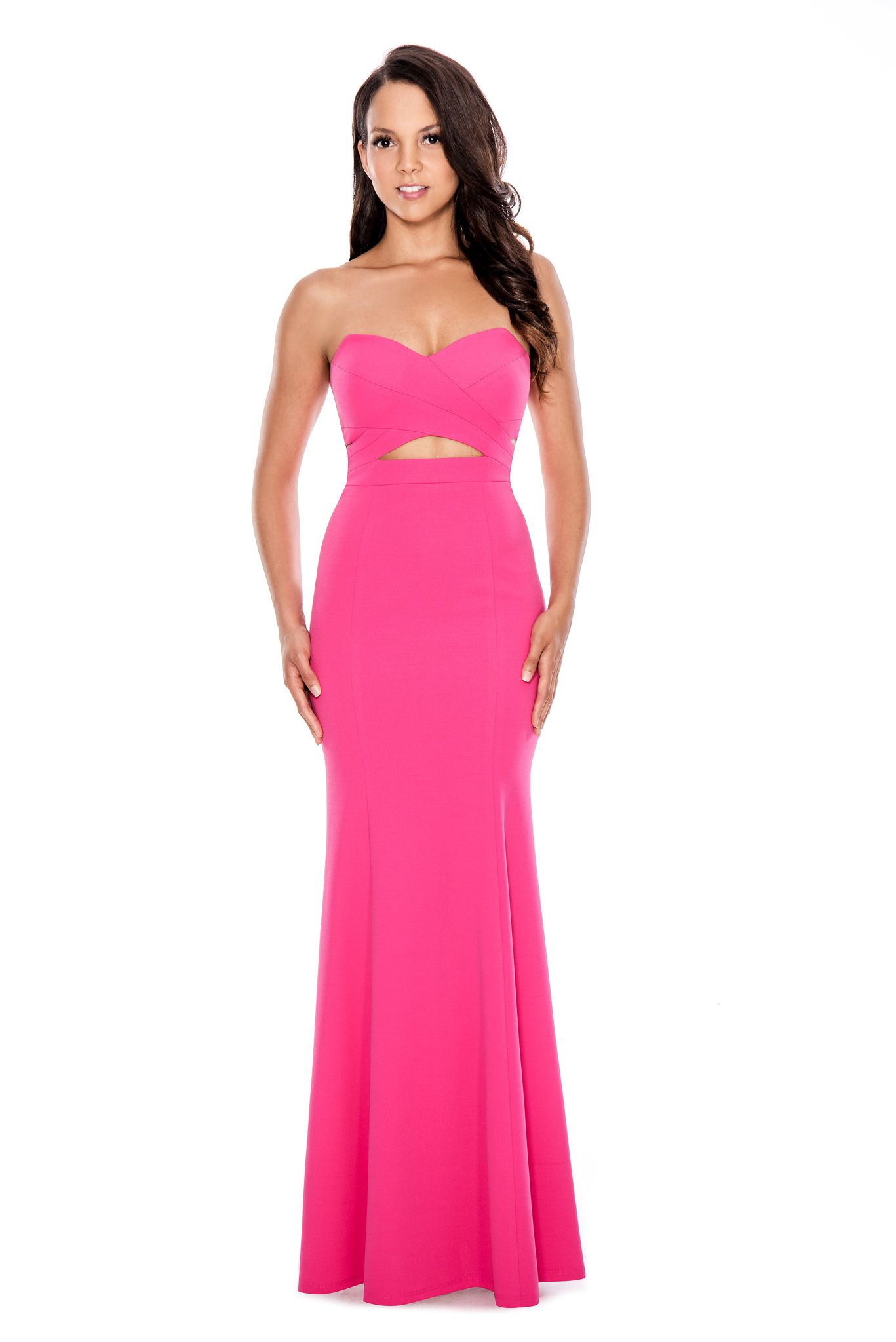 Style pink by decode prom cutout fashion wedding