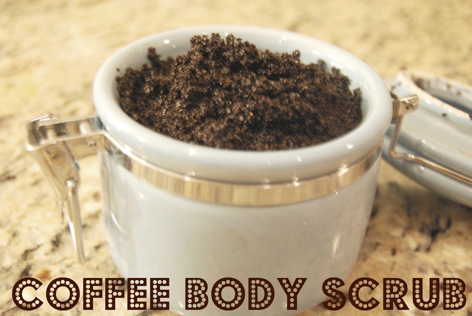 Coffee body scrub from gardenkitchenhome coffee scrub