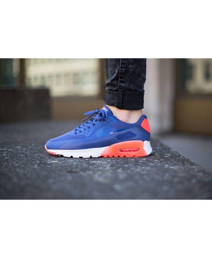 size 40 e3684 91160 Nike Air Max 90 Ultra Essential Blue Legend Trainer