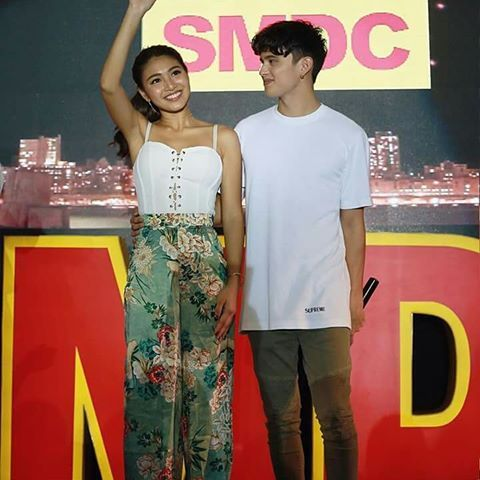 Thank you smdc vine residences james reid and nadine lustre for thank you smdc vine residences james reid and nadine lustre for making sundays meet and greet possible here are some of the highlights from the m4hsunfo
