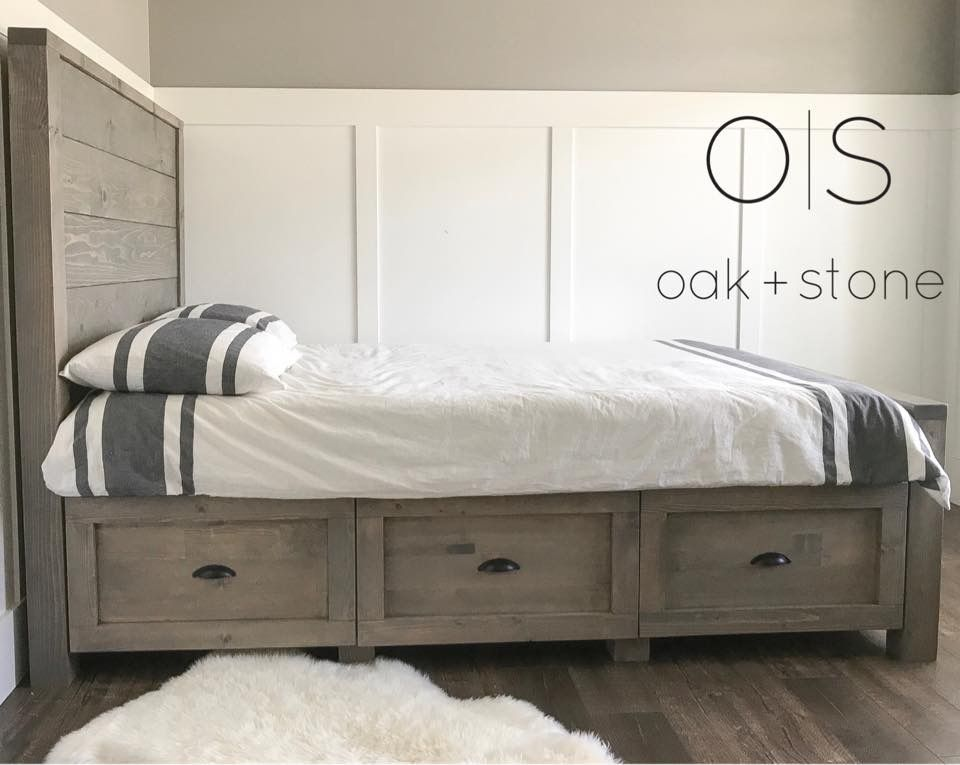 Ana White | Storage Bed - DIY Projects | T W I N S R O O M ...