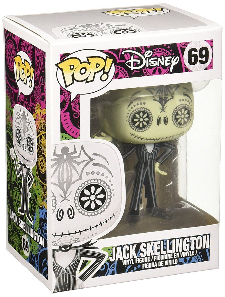 Funko POP Disney Day of The Dead Jack Skellington Action