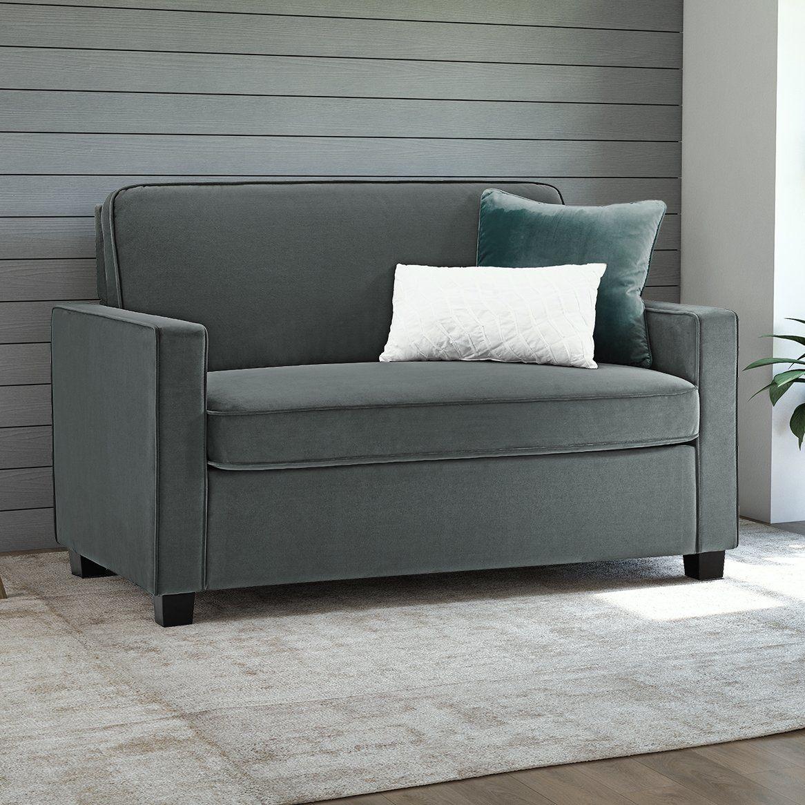 Cabell 54 Square Arm Sofa Bed Twin Sleeper Sofa Sleeper Sofa Sofa Bed