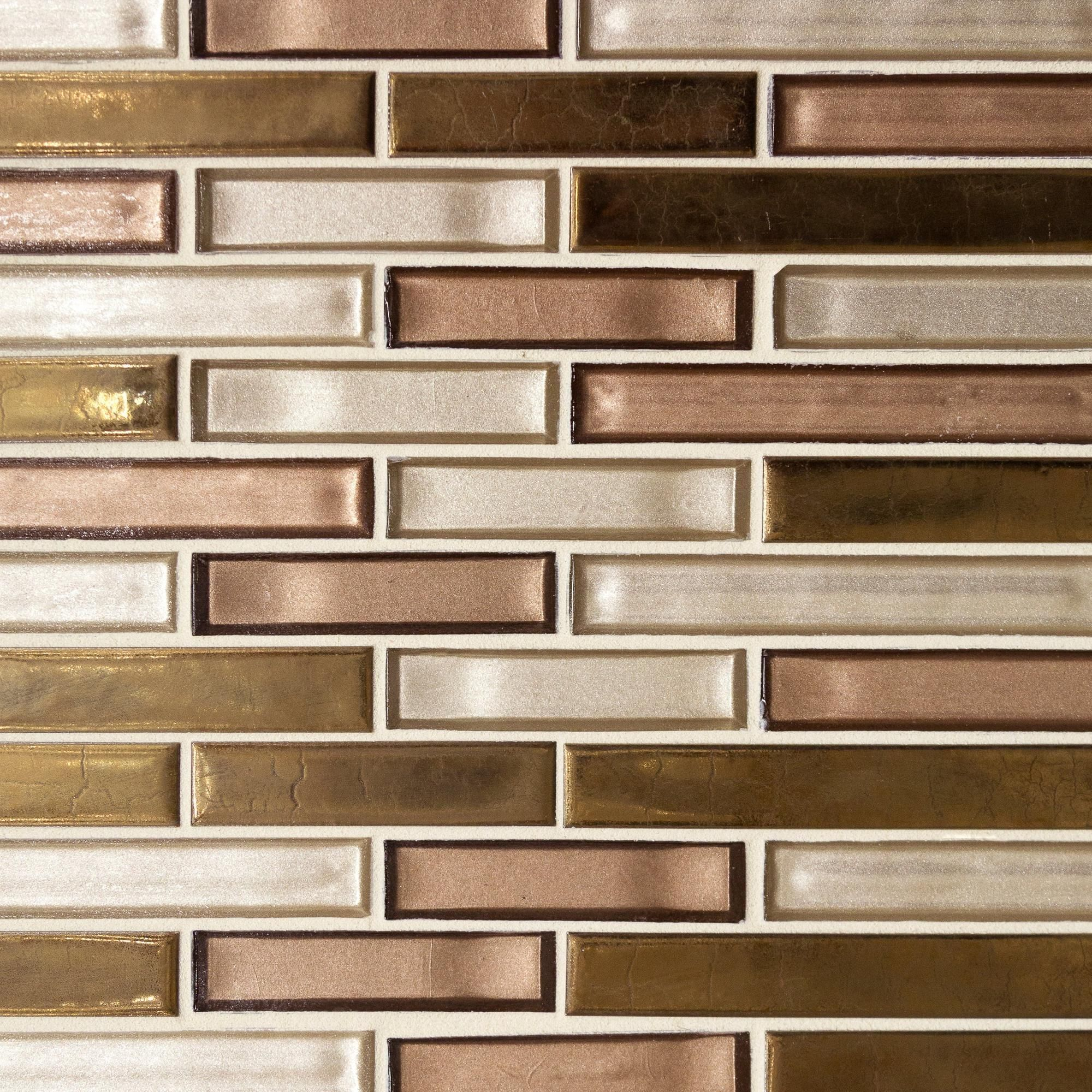 - Liquid Bronze Glass Mosaic (With Images) Glass Mosaic Backsplash