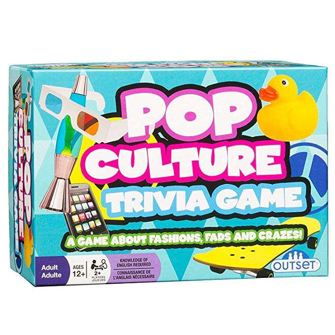 Pop Culture Trivia A Game About Fashions