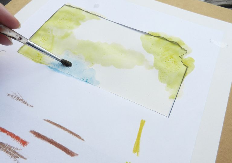 State Art Watercolor Tutorial Watercolour Tutorials State Art