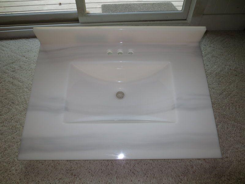 Custom Cultured Marble Vanity Top Cultured Marble Vanity Top Cultured Marble Countertops Marble Vanity Tops